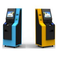 China Subway Recycling Kiosk Coin and Cash ATM Machine With Fan Fold Printer Thermal Printer wholesale