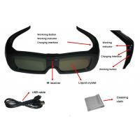China Family Universal Active Shutter 3D Glasses USB Charge Reset Function wholesale