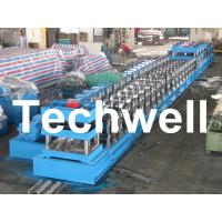 China 380V, 3 Phase 50Hz Two Wave Guardrail Roll Forming Machine for Highway Guardrail wholesale