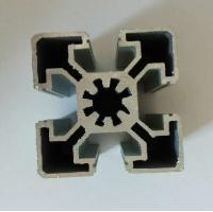 China 6063 Anodized Aluminum Assembly Line For Machine / Customized Aluminum Industrial Profile wholesale