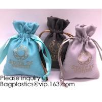 Gift Bags Velvet Bags Drawstring Jewelry Pouches Calabash Candy Pouches Party
