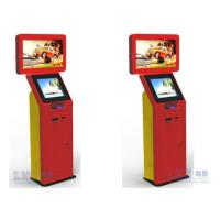 China 32 Inch or 19 Inch Dual Screen Kiosk , Industrial Kiosk For Trade Show wholesale