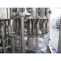China Multifunction 3 In 1 Filling Machine For Mineral / Pure / Non-Carbonated / Distilled Water wholesale
