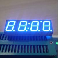 """China Ultra Blue Common Anode 0.39"""" 4 Digit Seven Segment Display For Digital TV STB wholesale"""