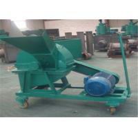 China Corn Stalks / Bamboo / Grass Wood Chipper Shredder With Speed Airflow wholesale