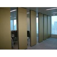 Buy cheap MDF Soundproof Fabric Acoustic Partition Walls Interior Divider For Hotel from wholesalers