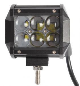 China IP67 4 Inch 4D Flood Beam Mini 18w Led Light Bar / Led Work Lights For Trucks wholesale
