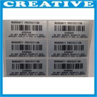 China security void barcode label wholesale