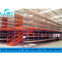 Wholesale Attic Pallet Rack Supported Mezzanine Racking System Corrosion protection from china suppliers