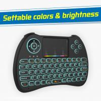 China Airmouse Rii Portable Mini Wireless Keyboard78 Channels 15M Control Distance wholesale