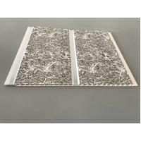 China Silver Line Interior 10 Inch Decorative PVC Panels For Ceiling Construction wholesale