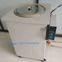 China 50L Laboratory Digital Display Water Baths Micro Electric-heated Thermostat Controlled Circulating Oil Bath for Test wholesale