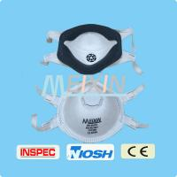 China High quality nonwoven disposable full face dust mask FFP3 Activited carton industrial dust mask wholesale
