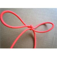 China Red Wax Cotton Cord , Waxed Linen Cord Spandex Clothing Accessories wholesale