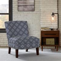 Bronc Floral Accent Chair Sunroom With Individually Placed Silver Nail Heads