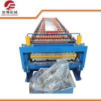 China IBR Corrugated Roofing Sheet Making Machine With 1000mm / 1200mm Steel Coil Width wholesale