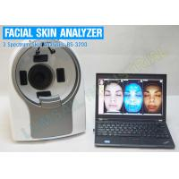 China 3 Spectrums Skin Scanner  Machine , skin analyzer equipment With Magic Mirror CANON Camera on sale