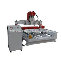 China 4 Spindles 4 Rotary Axis Cylinder Flat Wood Carving Machine with NK105 Control wholesale