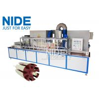 China Servo Epoxy Powder Coating Machine With The Touch Screen For Armature Rotor wholesale