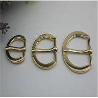 China Factory direct 20 mm / 25 mm / 32 mm gold zinc alloy bag strap buckle leather bag metal roll pin belt buckle wholesale