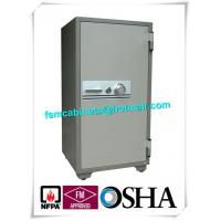 China Cupboard Fireproof Safety Storage Cabinets , Moistureproof Fire Safe Document Storage Cabinets wholesale