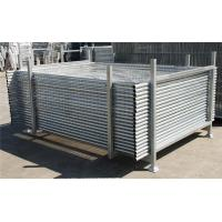 China Hot-Dipped Portable 2.4m X2.1m Temporary Moveable Safety Fence Australia Market wholesale