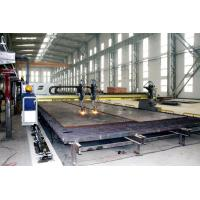 China Long Span Gantry Cutting Machine Use Double Sets Panasonic Sero Motors Drive Frame Move Along the Tracker wholesale