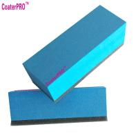 China 9h ceramic coating applicator nano coating agent applicator pad nano coat sponge super hydrophobic coating-10pcs wholesale