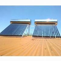 China Integrative pressurized solar water heater, 1.5mm frame thickness wholesale