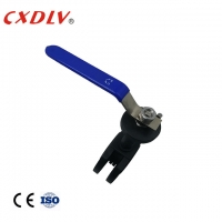 China PN16 Floating Ball Valve Lever Operation Flange Connection wholesale