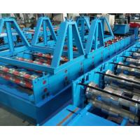 China Glazed Tile Cold Bending Machine Full Automatic Delta PLC Control And Hydraulic Cutting wholesale