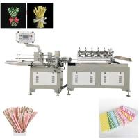 China Green Enviramental Colorful Paper  drinking Straw  Making Machine Product wholesale