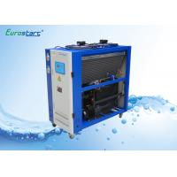 China 8 HP Double Condenser Portable Water Chiller Units Water Cooled Ac Unit 380V wholesale