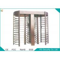 China Electric Automatic Turnstiles Access Control Full Height Turnstile Gate wholesale