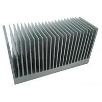 China Fluorocarbon Powder Spray Coated Aluminum Extrusion Heatsink For Aluminum Radiator wholesale