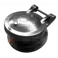 China Composite Materails Siamese Flap Valve & Swing Check Valve Use For Weak Acid And Alkali on sale