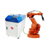 Buy cheap High Technology Fiber Laser Welding Machine For Metal , Robotic Laser Welding from wholesalers
