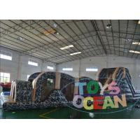 China Plato PVC Inflatable Obstacle Course wholesale