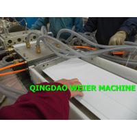 China Twin Screw PVC Profile Extrusion Machine For Making PVC Ceiling / Window Profile on sale
