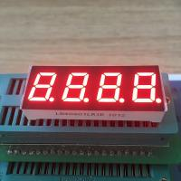 China Super red 0.4 Inch 7 Segment LED Display Common Cathode For temperature indicator wholesale