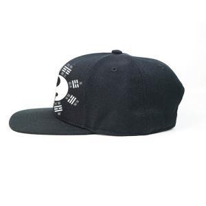 China Flat bill Customized 7holes plastic buckle Chinese style Tai Ji logo Sports snapback Hats Caps wholesale
