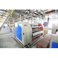 China Automatic Corrugating Paperboard making machine,  0-100m/min single facer wholesale