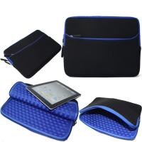 Quality Blue Shockproof Laptop Sleeve , Neoprene Macbook Pro 13 Inch Sleeve for sale