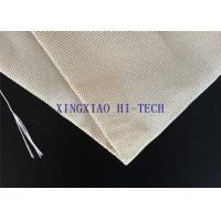 China SGS Certificated Thermal Insulation Fireproof Fiberglass Fabric Steel Wire Reinforced wholesale