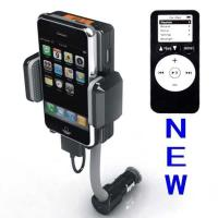 China Dc 12v, Vehicle Power Black Fm Transmitter + Car Charger For Iphone 3gs 3g Ipod Touch wholesale