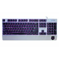 China 104 Keys Anti Ghosting Gaming Keyboard , Red Blue Purple Backlit Gaming Keyboard wholesale