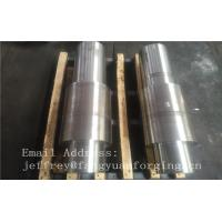 China Open Die Forged Alloy Steel Carbon Steel Shaft / Forging Products wholesale