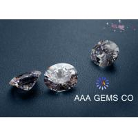 Necklaces 5mm AAA GEMS Sythetic Stones Colorless Moissanite With Round Shape