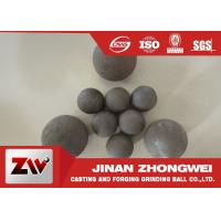 China Customized Forged Steel Grinding Ball Mining Water Or Oil Quenching on sale