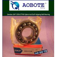 China High Precision Spherical Ball Bearing Self Aligning Swden SKF 2206ETN9 wholesale